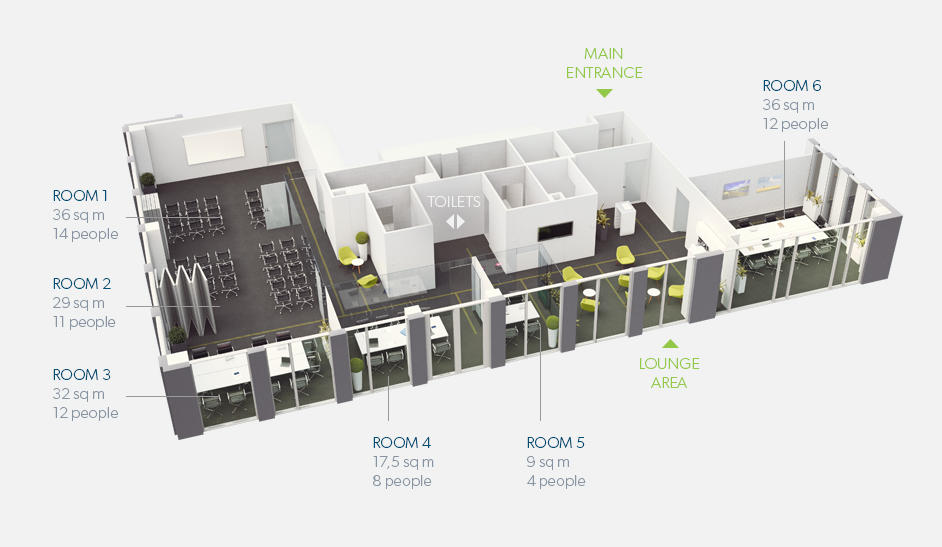 Rooms plan